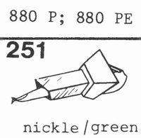 EMPIRE SCIENTIFIC 880 P, 880 PE Nadel, Diamant, Stereo
