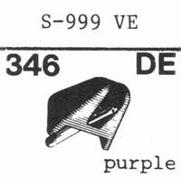EMPIRE SCIENTIFIC 999/VE Nadel, Diamant, elliptisch