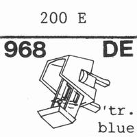 EMPIRE SCIENTIFIC S-200 E Nadel, Diamant, elliptisch