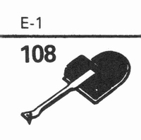 EUPHONICS E-1 Stylus, diamond, stereo