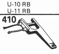 EUPHONICS U-10 RB/U-11 RB Stylus, sapphire normal (78rpm) +