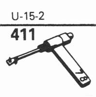 EUPHONICS U-15/2 Stylus, sapphire normal (78rpm) + sapphire