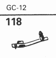 GARRARD GC-12 - 78 RPM Stylus, Diamond, normal (78rpm)