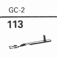 GARRARD GC-2 Stylus, diamond, stereo