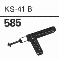 GARRARD KS-41 B Stylus, sapphire stereo + diamond stereo