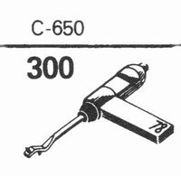 GENERAL ELECTRIC C-650 Stylus, SS/DS<br />Price per piece