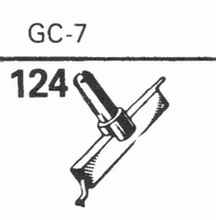 GENERAL ELECTRIC GC-7 Stylus, diamond, stereo