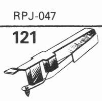 GENERAL ELECTRIC RPJ-047 Stylus, Diamond, normal (78rpm)