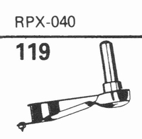 GENERAL ELECTRIC RPX-040 Stylus, DS