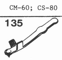 GOLDRING CM-60, CS-80 Stylus, DS
