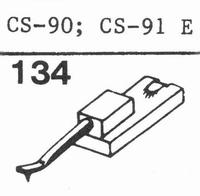 GOLDRING CS-90, CS-91 E Stylus, DS