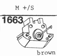 GRADO M+/S (BROWN) Stylus, ORIGINAL