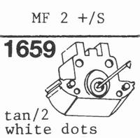 GRADO MF2+/S (TAN 2 WHITE DOTS, Stylus