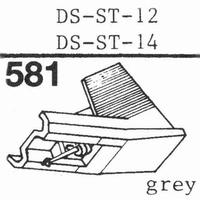 HITACHI DS-ST-12 Stylus, diamond, stereo