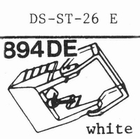 HITACHI DS-ST-26 E Stylus, diamond, elliptical, original