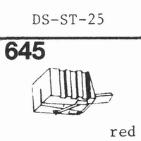 HITACHI DS-ST-25 Stylus, diamond, stereo