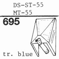 HITACHI DS-ST-55, MT-55 Stylus, diamond, stereo