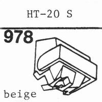 HITACHI HT-20 S, Stylus, diamond, stereo