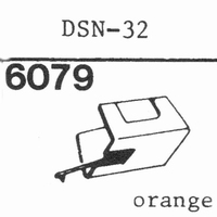 JAPAN COLUMBIA (DENON) DSN-32 Stylus, DS<br />Price per piece