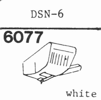 JAPAN COLUMBIA (DENON) DSN-6 Stylus, diamond, stereo