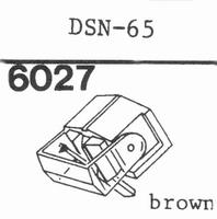 JAPAN COLUMBIA (DENON) DSN-65 Stylus, diamond, elliptical