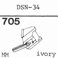 JAPAN COLUMBIA DSN-34 Stylus, diamond, stereo