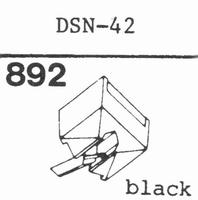 JAPAN COLUMBIA DSN-37, diamond, stereoN-42 Stylus, diamond,