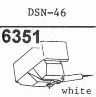 JAPAN COLUMBIA DSN-46 Stylus, diamond, elliptical