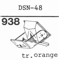 JAPAN COLUMBIA DSN-48 Stylus, diamond, stereo