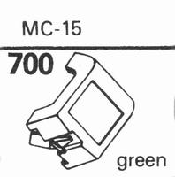 JELCO MC-15 Stylus, diamond, stereo