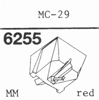 JELCO MC-29 Stylus, diamond, stereo