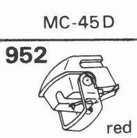 JELCO MC-45 D Stylus, diamond, stereo, original