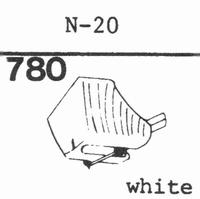 KENWOOD N-20 Stylus, diamond, stereo