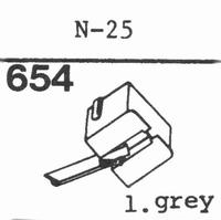KENWOOD N-25, N-30 Stylus, diamond, stereo