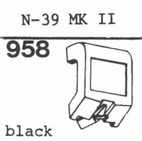 KENWOOD N-39 MK II Stylus, diamond, stereo