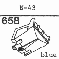 KENWOOD N-43 Stylus, diamond, stereo