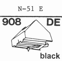 KENWOOD N-50 E Stylus, diamond, elliptical