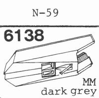 KENWOOD N-59 Stylus, diamond, stereo