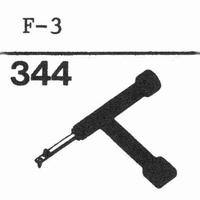 LESA F-3 Stylus, sapphire normal (78rpm) + sapphire stereo