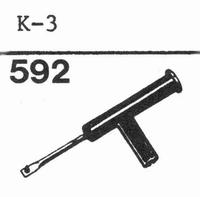 LESA K-3 Stylus, diamond, stereo