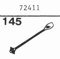 LUXOR 72411 Nadel, Saphir Normal (78rpm) + Saphir Stereo