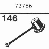 LUXOR 72786 Nadel, Saphir Normal (78rpm) + Saphir Stereo