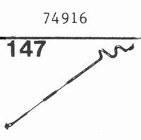 LUXOR 74916 Nadel, Saphir Normal (78rpm) + Saphir Stereo