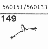 MAGNAVOX 560151, 560133 Stylus, sapphire normal (78rpm) + sa