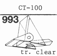 MARANTZ CT-100 Stylus, diamond, stereo