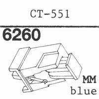 MARANTZ CT-551 L.BLUE NEW MM Stylus, DS