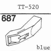 MARANTZ TT-520 Stylus, diamond, stereo