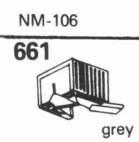 MARLUX NM-106 Stylus, diamond, stereo