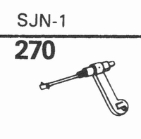 MASTERCRAFT SJN-1 Stylus, sapphire normal (78rpm) + sapphire