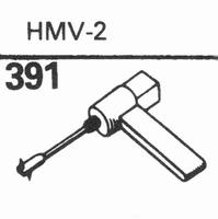 MERULA HMV-2 Stylus, sapphire normal (78rpm) + sapphire ster
